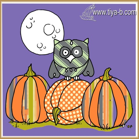 owl-and-3-pumpkins