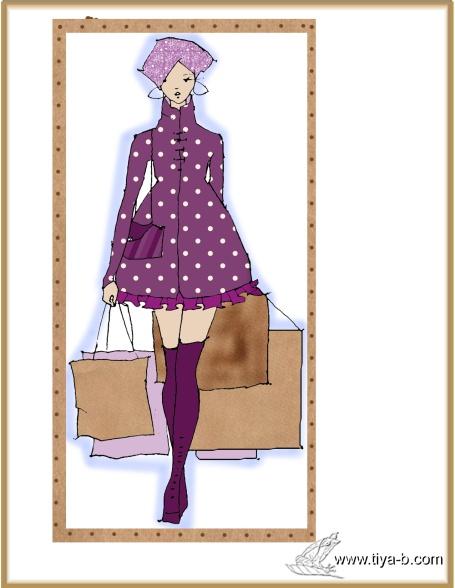 purple-fashon