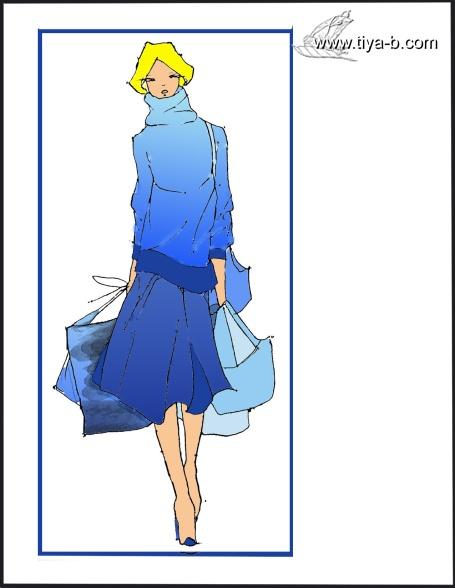 fashion-blue