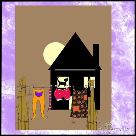 halloween-clotsline