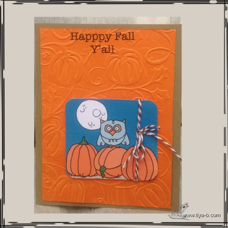 owl&pumpkins