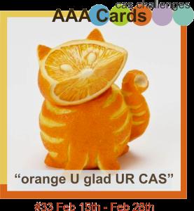 orange u glad