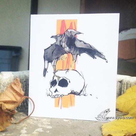 ravens-n-skull