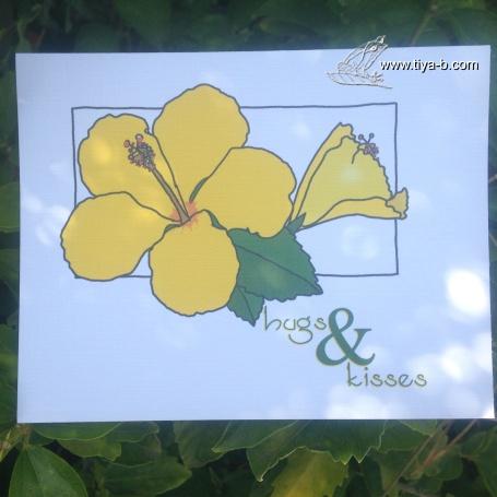 yellow-hybicus