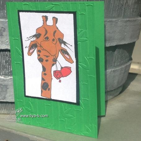 framed-giraff