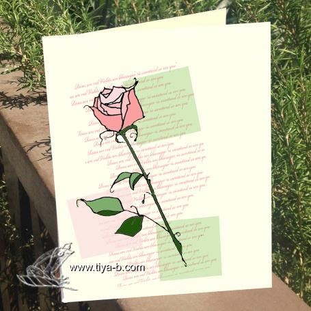 pink&green-rosebud
