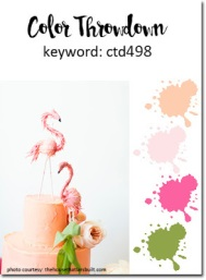 ct498 peach pink green